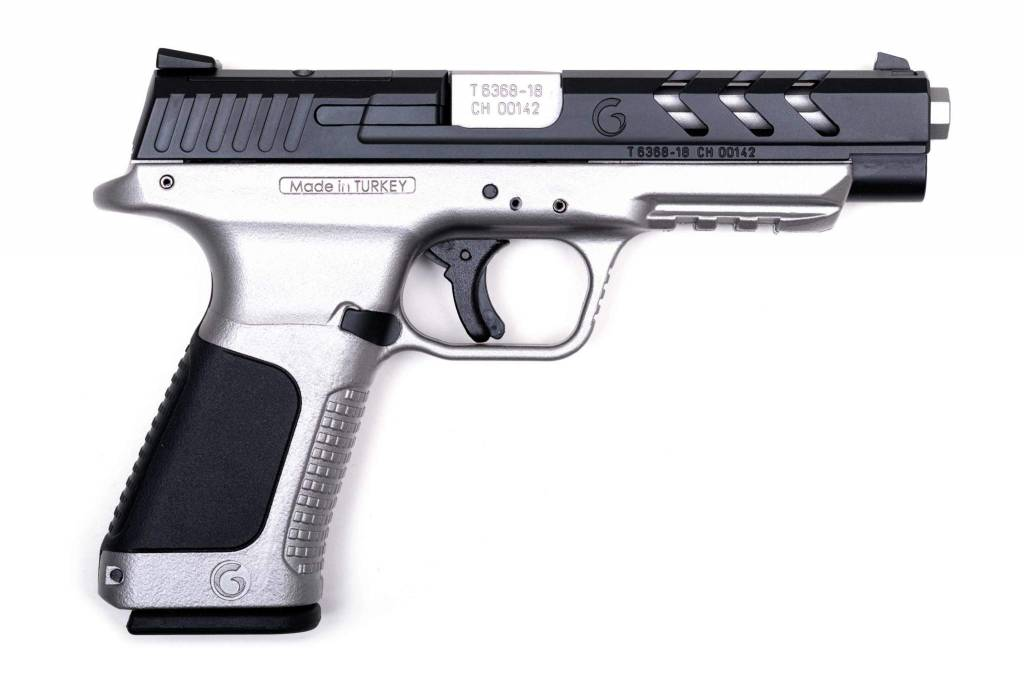 GIRSAN Girsan MC28 TX Tactical 9mm Pol  Pistol 5'' OPTIC Ready