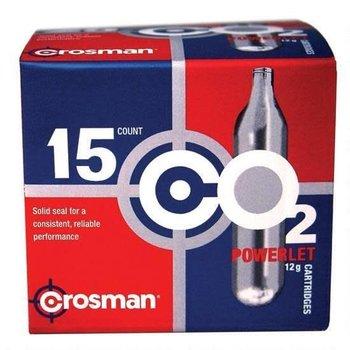 Crosman Crosman CO2 Powerlet Cartridges 12 Gram C21315