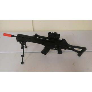 Airsoft HK C-tac gas red dot bipod 1 mag