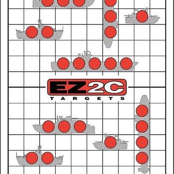 """EZ2C EZ2C Target  25ct/pack Style 22 11"""" x 17"""""""