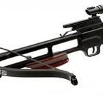 Mtech MTECH USA Crossbow 35'' 150LB Draw Weight Dark WOOD STOCK W/2 16'' Arrows