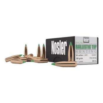 Nosler Nosler BT 30 Cal 165 Gr SP-50 CT