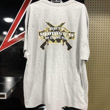 JESSE JAMES Jesse James Shootng Guns T-shirt - XL