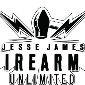 JESSE JAMES Jesse James Shootng Guns Hoodies - M