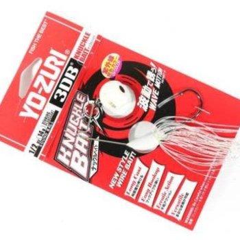 Yo-Zuri Yo-Zuri 3DB Knuckle Spinnerbait - 1/2 oz - Pearl Shad