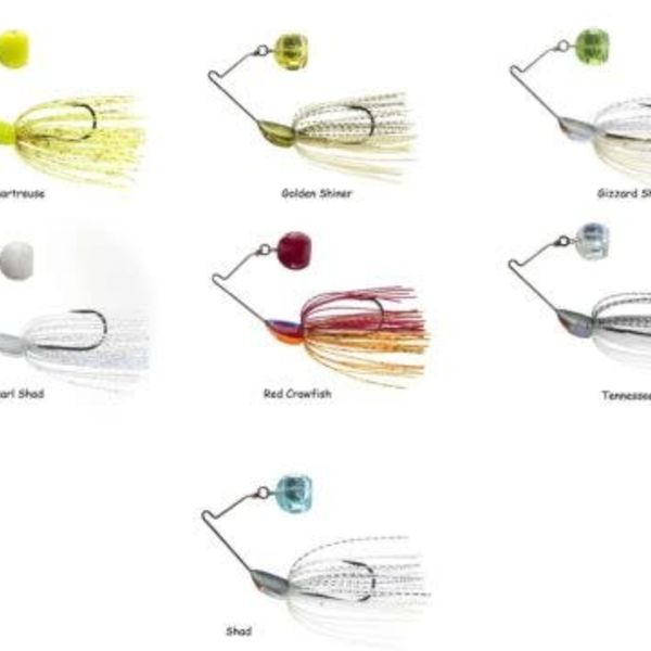 Yo-Zuri Yo-Zuri 3DB Knuckle Spinnerbait - 1/2 oz - Golden Shiner