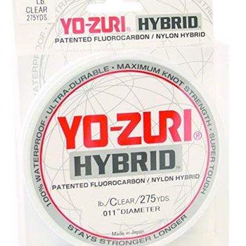 Yo-Zuri Yo-Zuri 275-Yard Hybrid Monofilament Fishing Line, Clear, 6Lb.