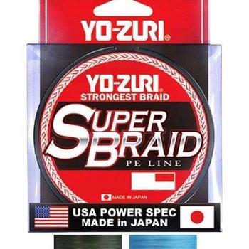 Yo-Zuri Yo-Zuri Duel P.e Line Super Braid 150yds 15lbs (0.19mm) Dark Green R1257-dg