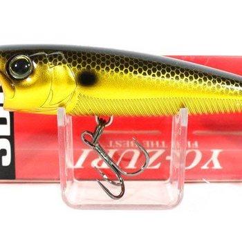 Yo-Zuri Yo-Zuri R1101GBL 3DB Popper, 3'' 3/8 oz, Gold Black, Floating