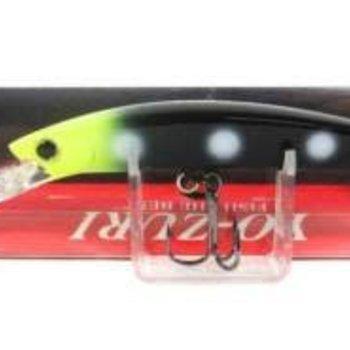 Yo-Zuri Yo-Zuri R1205ZB Crystal Minnow Deep Diver Walleye Trolling Bait 3/8oz