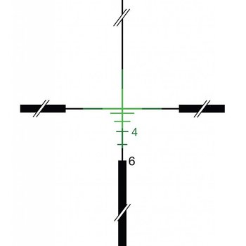 trijicon TRIJICON ACOG 4X32 DUAL ILL. GREEN CROSSHAIR W/ TA51 MOUNT