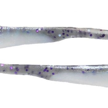 VRX FISHING Shiver Shad, 210 SMK/PPL/SIL HOLI/BLU IRR