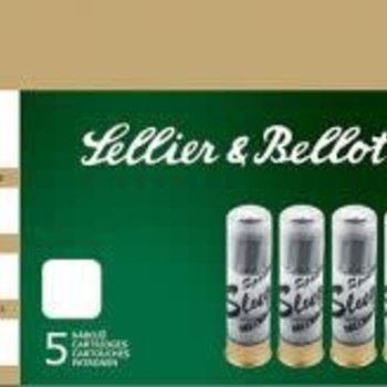 Sellier & Bellot Sellier&bellot 20Ga 2 3/4 Slug 5ct/pack