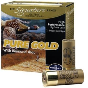 Kent Cartridge Kent Pure Gold w/ Diamond Shot Shotgun Shells 250/case