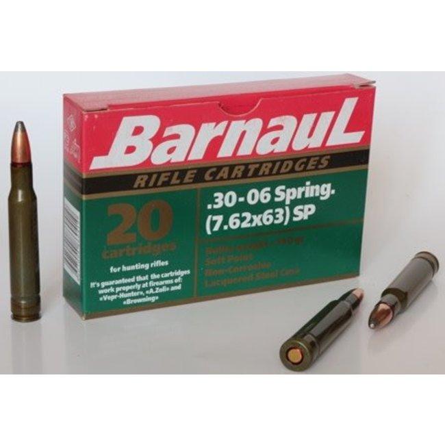 Barnaul 30-06 spr 7.62x63 FMJ 145 gr non corrosive 20/box