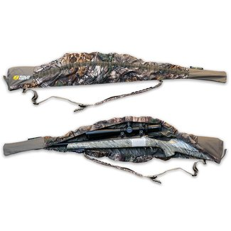 Solo Hunter Rifle Cover - 40'' to 52'' - Self Adjusting Stretch Fit - Camo