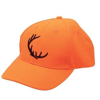 Backwoods Backwoods Embroidered Cap, Blaze Orange - L
