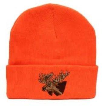 Backwoods Backwoods Thinsulate Knit Touque - Blaze Orange - Moose