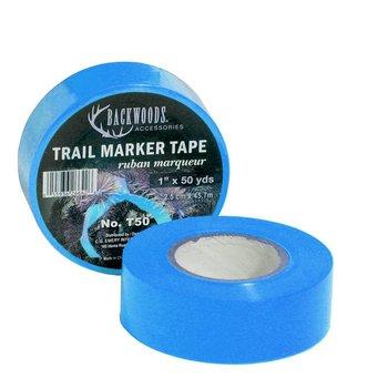 Backwoods Backwoods Trail Marker Tape, 1'' x 50YD - Blue
