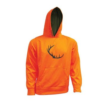 Backwoods Backwoods Blaze Orange Hoodie - M