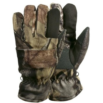 Backwoods Backwoods Pure Camo Kids Gloves - L