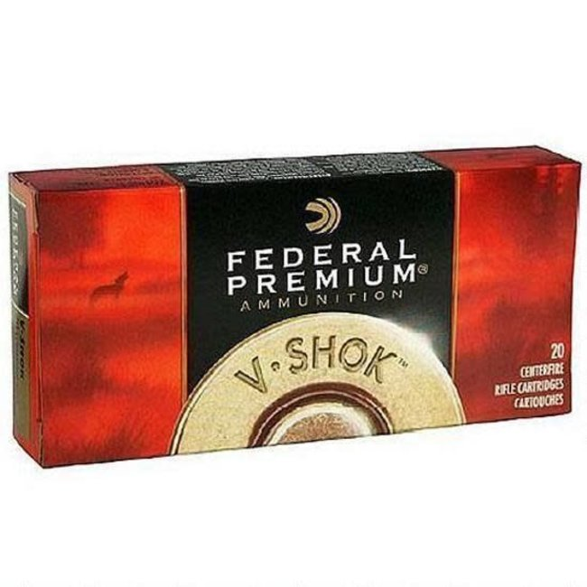 Ammo .30-06 Springfield Federal Vital-Shok Nosler Partition SP Bullet 165 Grain 2830 fps 20/box P3006AD