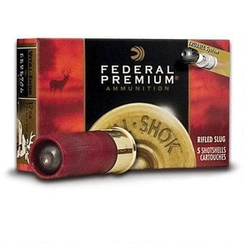 "Federal Federal Vital-Shok 12 Ga 2 3/4"" 1oz. HP Slug 5/box"
