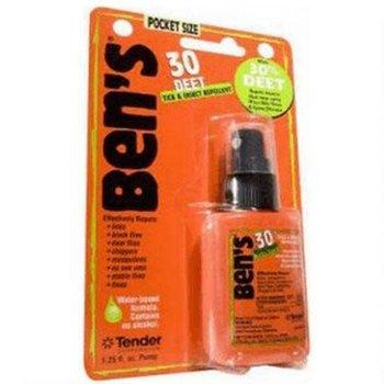 Ben's 0006-7190 Insect & Tick Repellent, 1.25oz Pump Spray, 30%