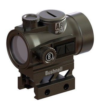 Bushnell 1X25 3 MOA, AIMPOINT BASE, waterproof Nitrogen Purged Shockproof extended battery life