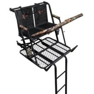 X-Stand The Jayhawk Ladder Stand, Black