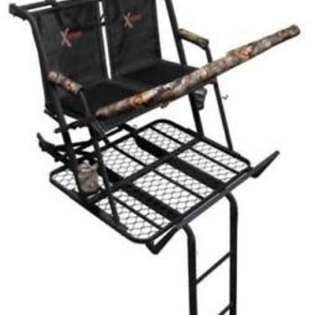 X-stand X-Stand The Jayhawk Ladder Stand, Black