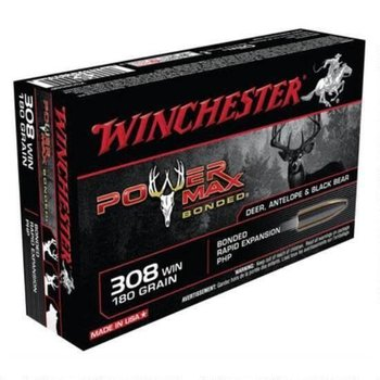 WINCHESTER Winchester Power Max .308 Winchester Ammunition 20 Rounds Bonded PHP 180 Grains X3086BP