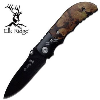 Elk Ridge Elk Ridge Manual Folder 3.5'' - Camo Handle