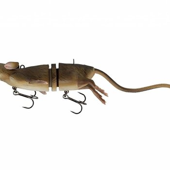 Savage Gear Savage Gear 3D Rat Bait Floating 7-3/4'' - Floating Brown