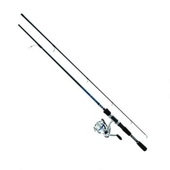 "Daiwa Daiwa D-Shock Freshwater Spinning Combo 6'6"" 2 Piece Medium Action"