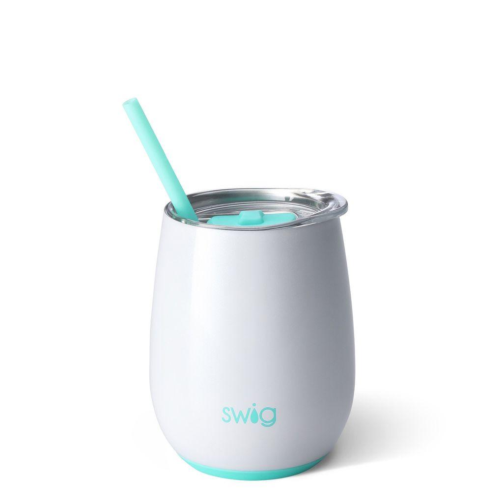 Swig 14oz Stemless Wine Cup - Diamond White