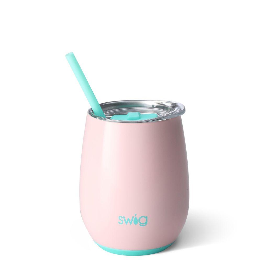 Swig 14oz Stemless Wine Cup - Blush