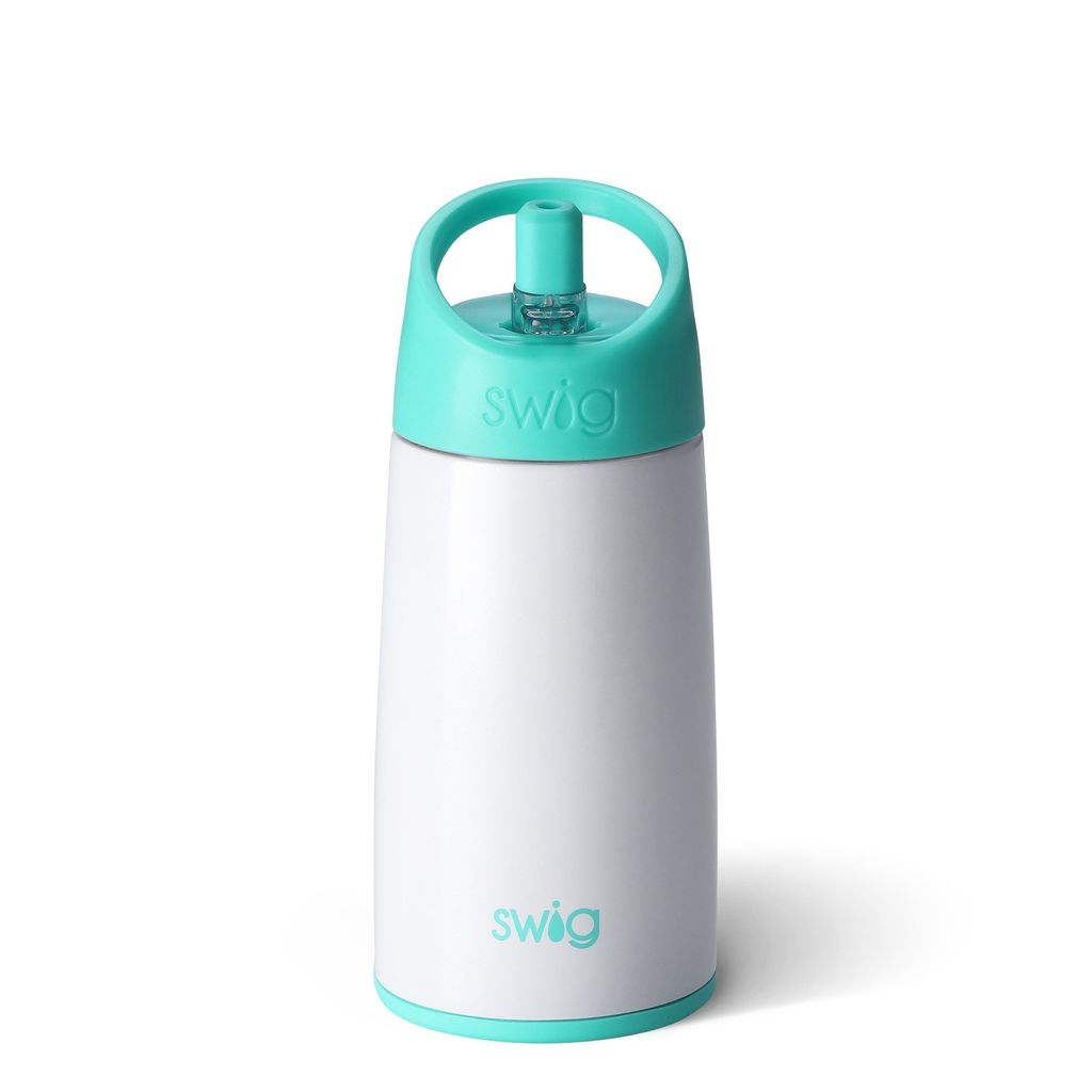 Swig 12oz Kids Bottle-Diamond White