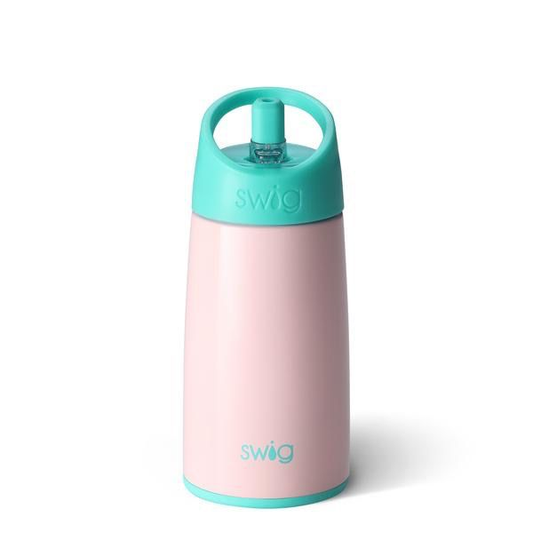 Swig 12oz Kids Bottle-Blush