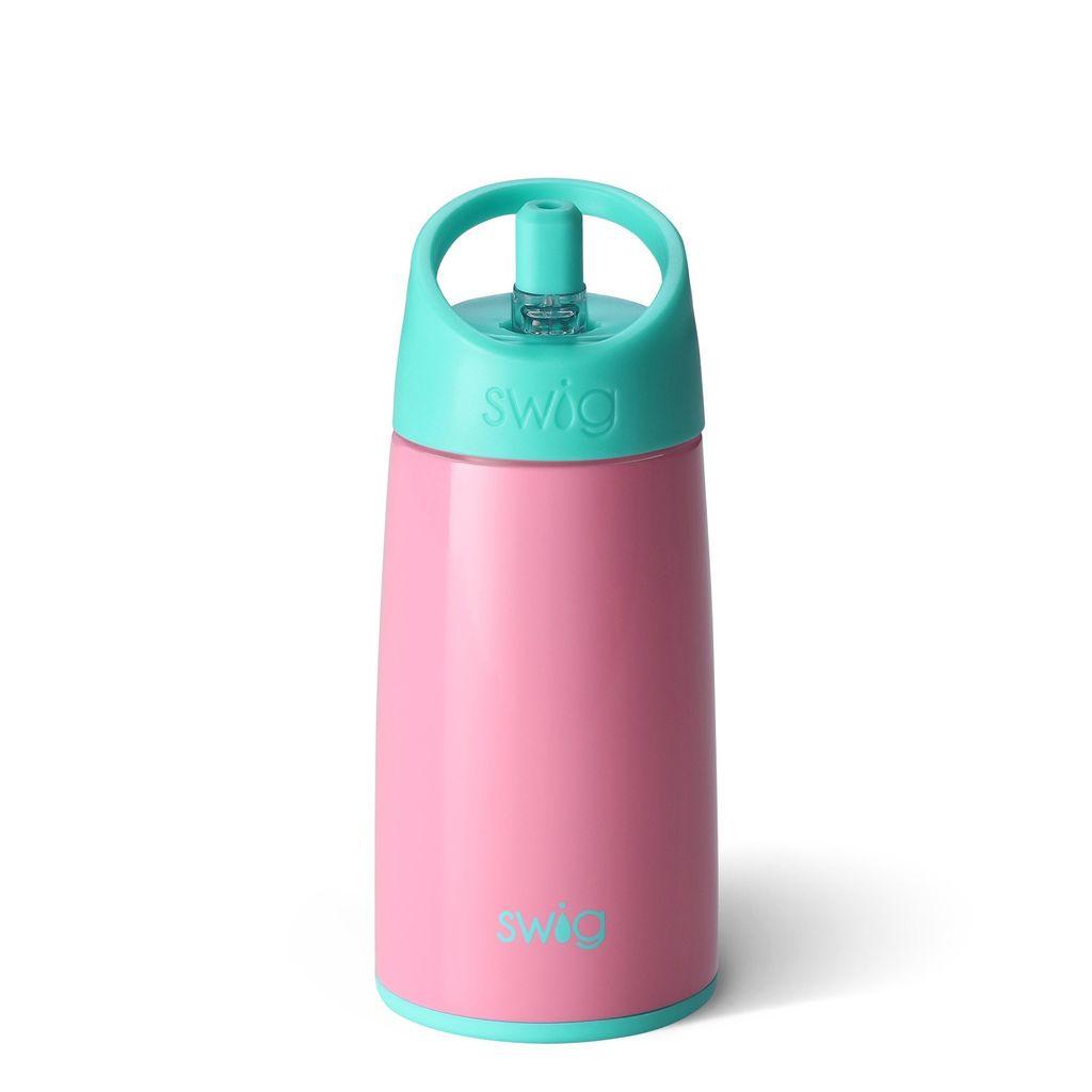 Swig 12oz Kids Bottle-Peony