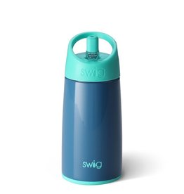 Swig 12oz Kids Bottle-Denim