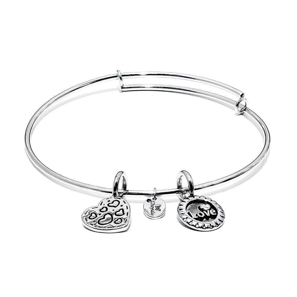 Life Collection - Joy Expandable Bangle - Standard Size - Silver