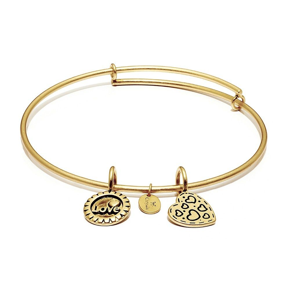 Life Collection - Joy Expandable Bangle - Standard Size - Gold
