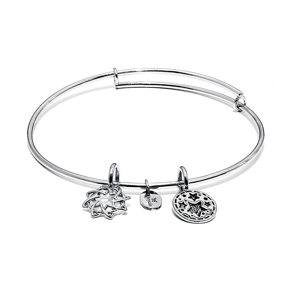 Life Collection - Redemption Expandable Bangle - Small Size - Silver