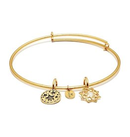 Life Collection - Redemption Expandable Bangle - Standard Size - Gold