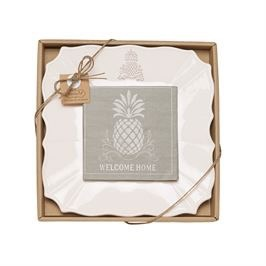 Mud Pie Pineapple Cheese Set