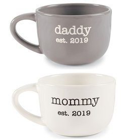 Mud Pie Daddy Est 2019 Mug