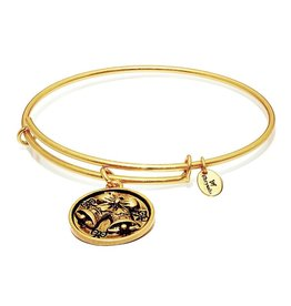 Wonderland Collection-Celebration Expandable Bangle - Small Size Gold