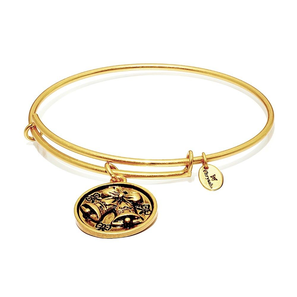 Chysalis WonderLand Collection-Celebration Expandable Bangle- Standard Size Gold