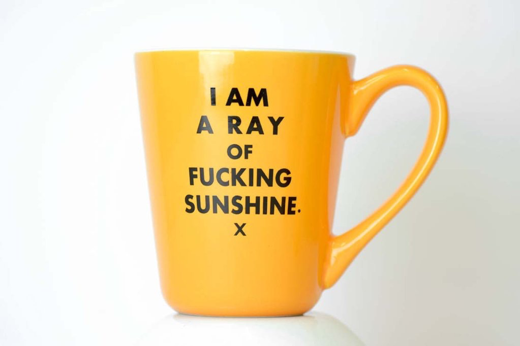 Ceramic Coffee Mug - Ray of F*cking Sunshine